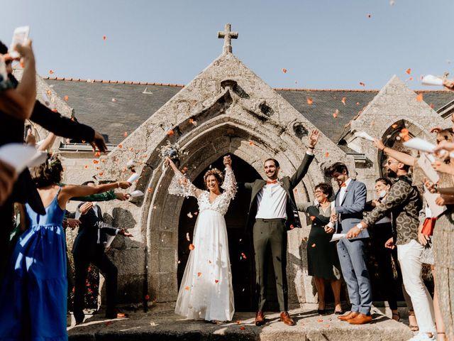 Le mariage de Louis et Gladys  à Plomelin, Finistère 106