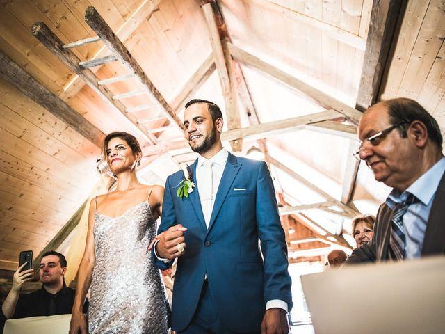 Le mariage de Omar et Barbara à Saint-Sixt, Haute-Savoie 30