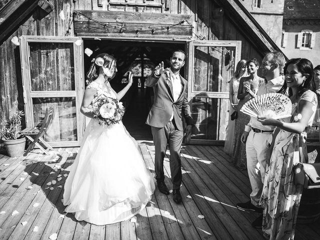 Le mariage de Omar et Barbara à Saint-Sixt, Haute-Savoie 50