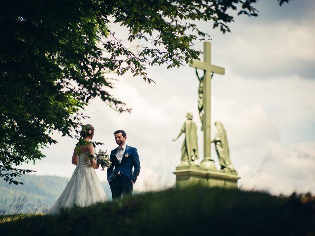 Le mariage de Guillaume et Aline à Remiremont, Vosges 5