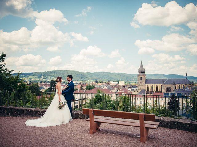 Le mariage de Guillaume et Aline à Remiremont, Vosges 6