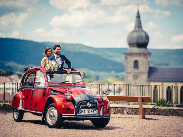 Le mariage de Guillaume et Aline à Remiremont, Vosges 8