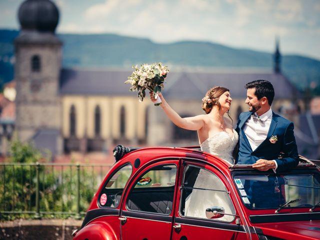 Le mariage de Guillaume et Aline à Remiremont, Vosges 9