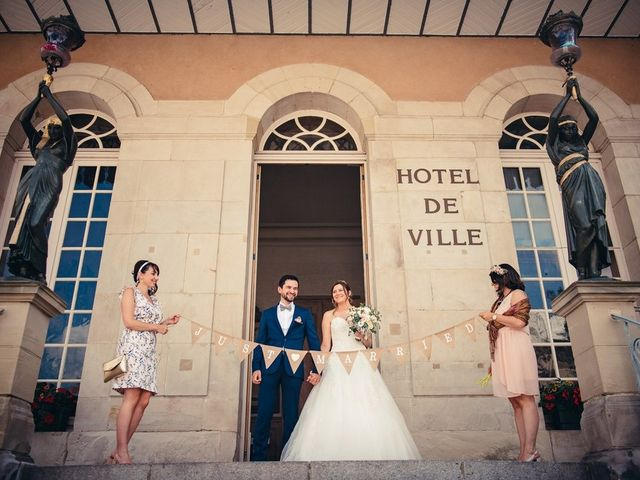Le mariage de Guillaume et Aline à Remiremont, Vosges 20