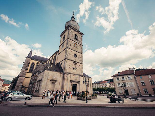 Le mariage de Guillaume et Aline à Remiremont, Vosges 22