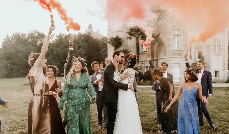 Le mariage de Louis et Gladys  à Plomelin, Finistère