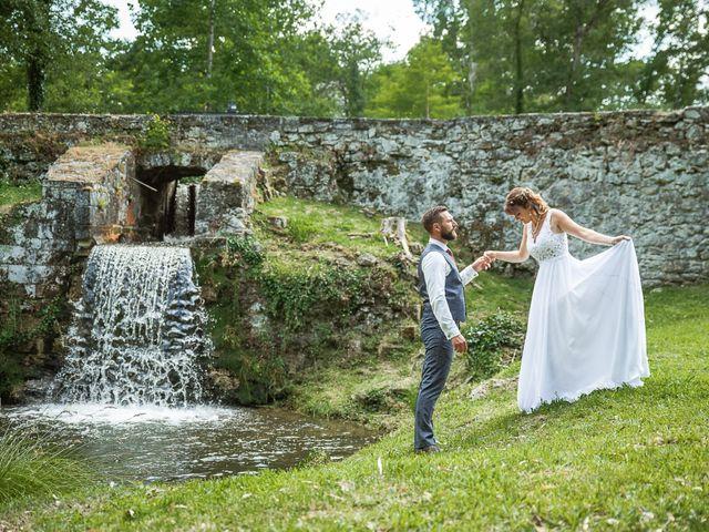 Le mariage de Loïc et Manon à Villandraut, Gironde 8