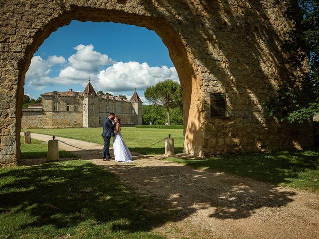 Le mariage de Loïc et Manon à Villandraut, Gironde 13
