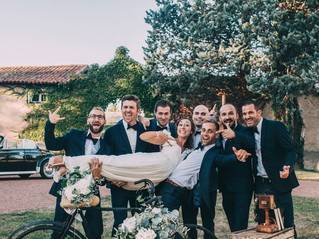 Le mariage de Romain et Marion à Sorbiers, Loire 40