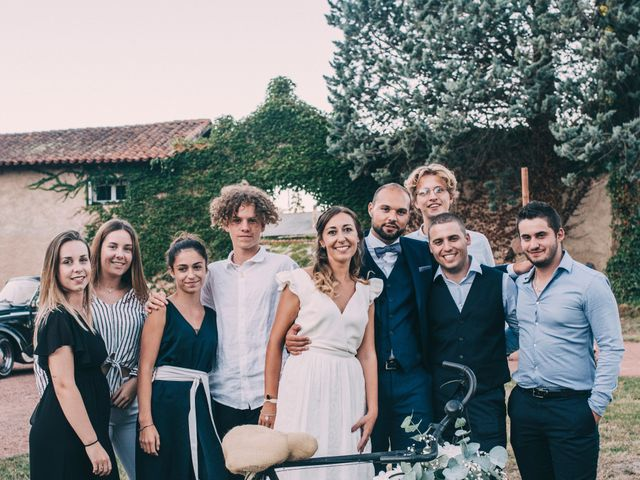 Le mariage de Romain et Marion à Sorbiers, Loire 54