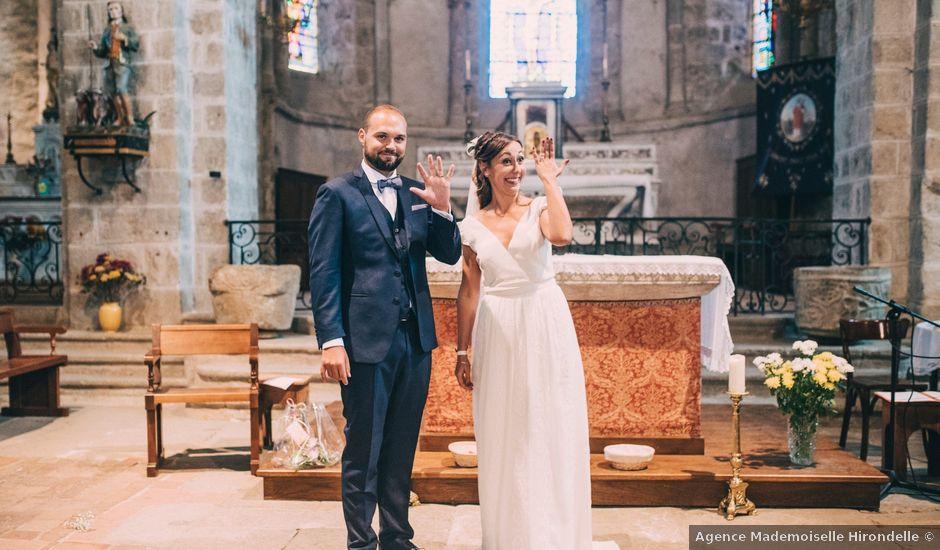 Le mariage de Romain et Marion à Sorbiers, Loire