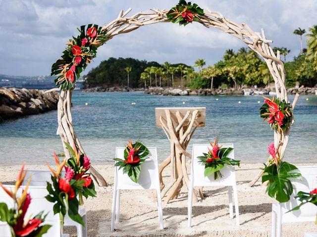 Le mariage de Maxime et Samantha à Les Trois-Îlets, Martinique 1