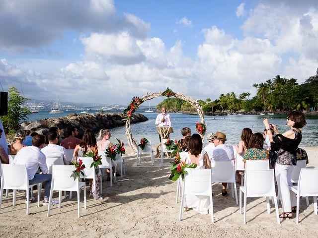 Le mariage de Maxime et Samantha à Les Trois-Îlets, Martinique 11