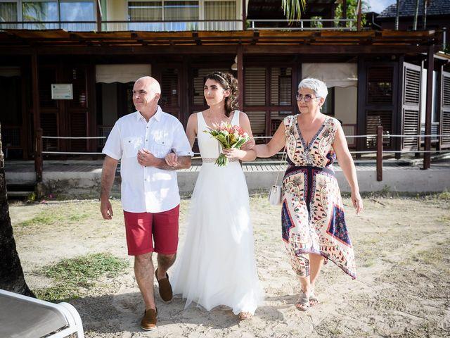 Le mariage de Maxime et Samantha à Les Trois-Îlets, Martinique 13
