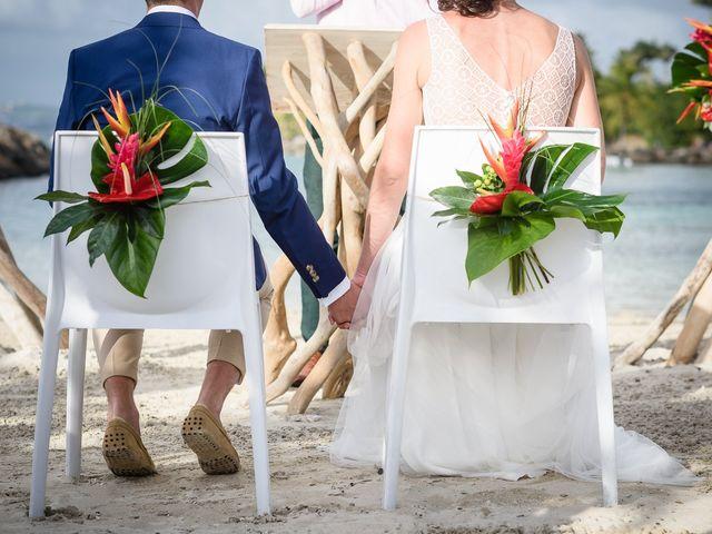 Le mariage de Maxime et Samantha à Les Trois-Îlets, Martinique 14