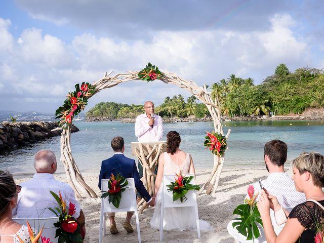 Le mariage de Maxime et Samantha à Les Trois-Îlets, Martinique 15