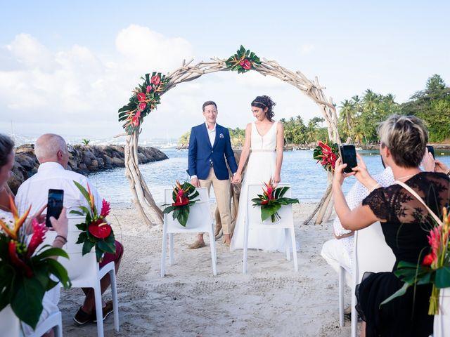 Le mariage de Maxime et Samantha à Les Trois-Îlets, Martinique 22