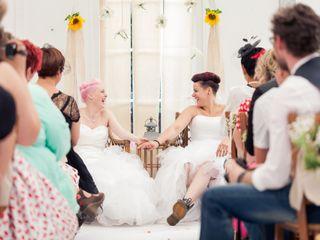 Le mariage de Amandine et Hélène