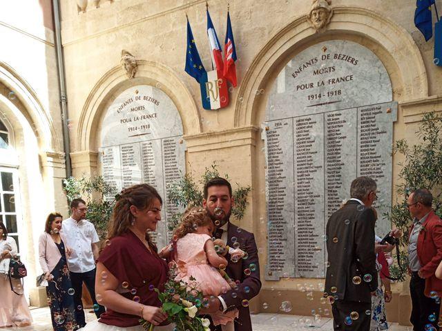 Le mariage de Vincent et Floriane à Béziers, Hérault 20