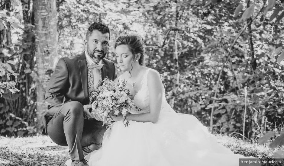 Le mariage de Guillaume et Cindy à Prissac, Indre
