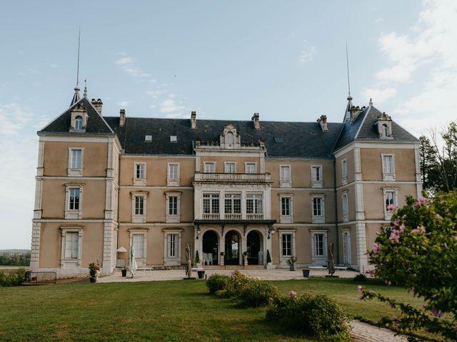 Le mariage de Julien et Marie-Elise à Poligny, Jura 2