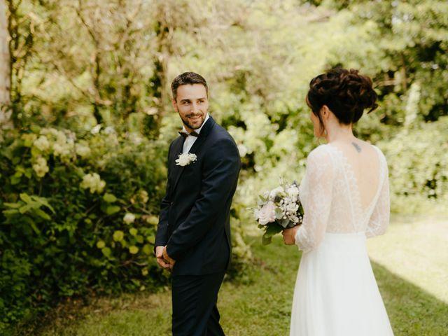 Le mariage de Julien et Marie-Elise à Poligny, Jura 26