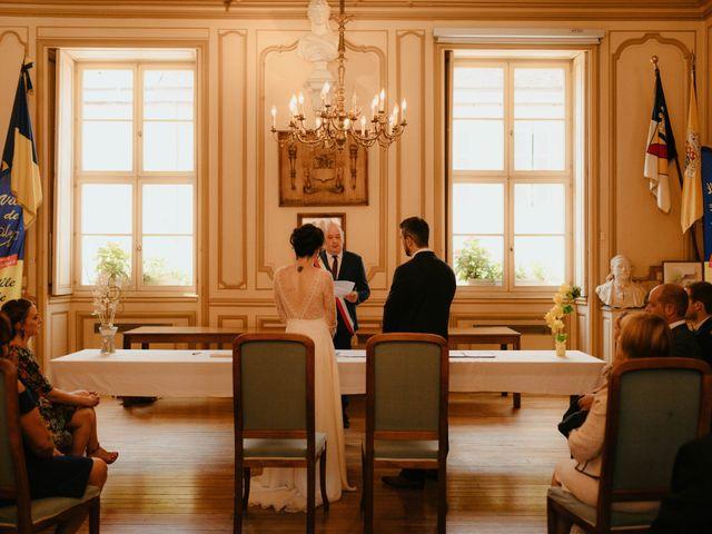 Le mariage de Julien et Marie-Elise à Poligny, Jura 34