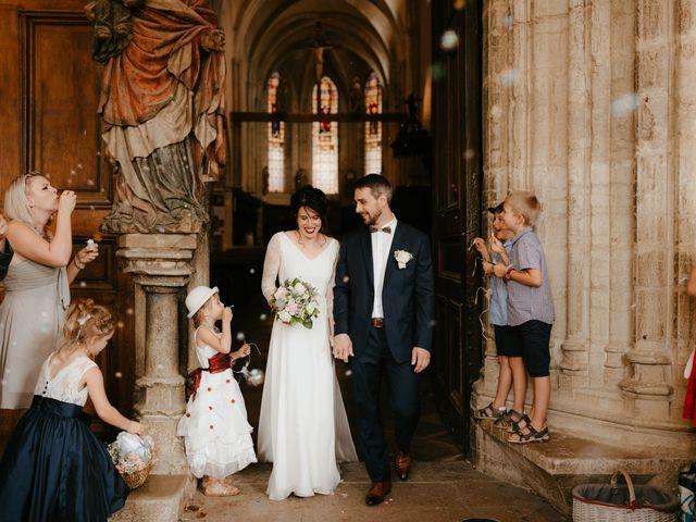 Le mariage de Julien et Marie-Elise à Poligny, Jura 44