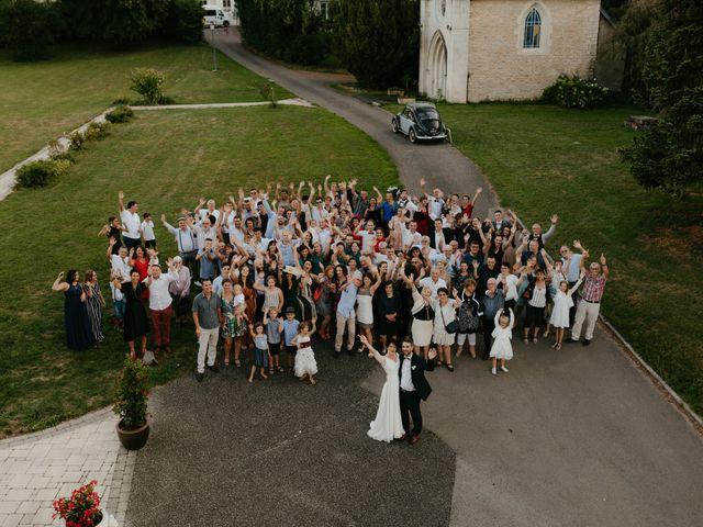 Le mariage de Julien et Marie-Elise à Poligny, Jura 59