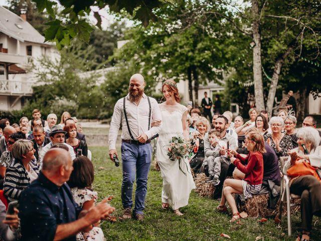 Le mariage de Louis et Kassandra à Saint-Alban-de-Montbel, Savoie 2