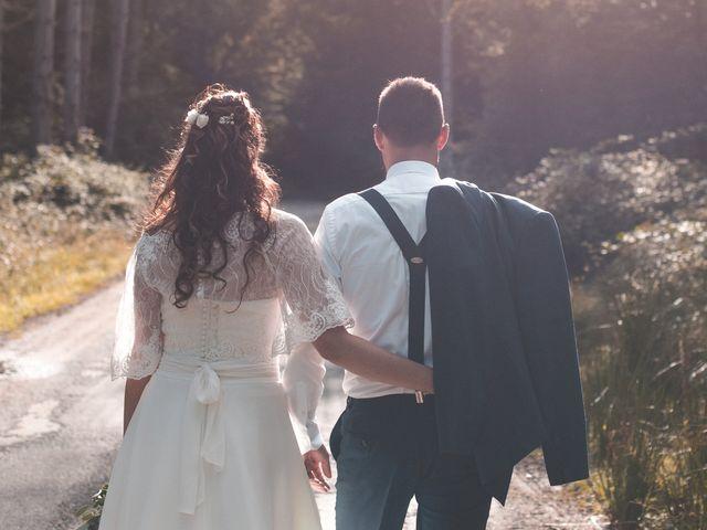 Le mariage de Marc et Marie à Fatines, Sarthe 12