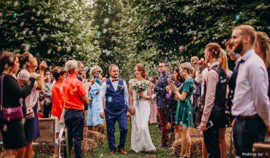 Le mariage de Louis et Kassandra à Saint-Alban-de-Montbel, Savoie