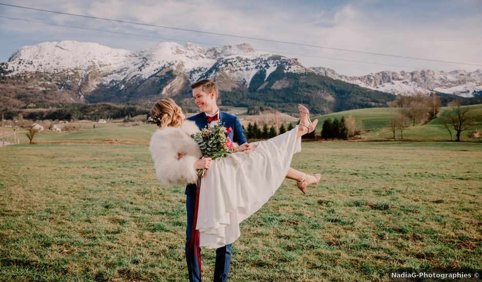 Le mariage de Francois et Maryse à Autrans, Isère
