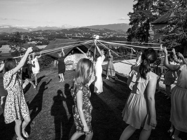 Le mariage de Alexis et Louise à Moye, Haute-Savoie 74