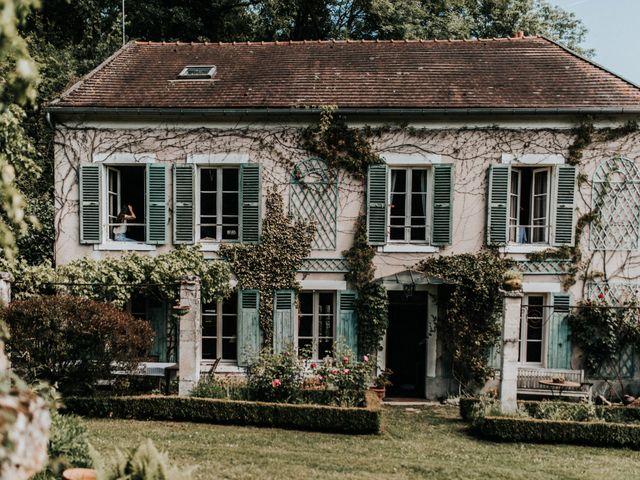 Le mariage de Charles et Lucie à Pontarmé, Oise 1
