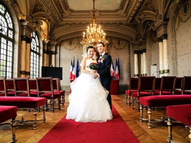 Le mariage de Jing et Mathieu