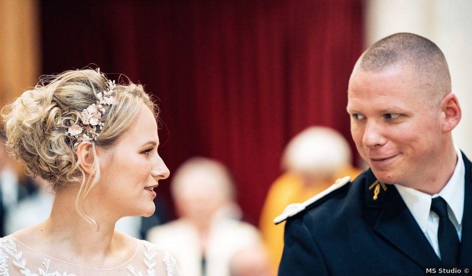 Le mariage de Julien et Angélique à Dole, Jura