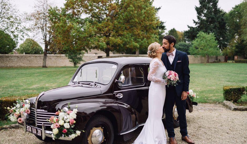 Le mariage de Paul et Adélaïde  à Chuisnes, Eure-et-Loir
