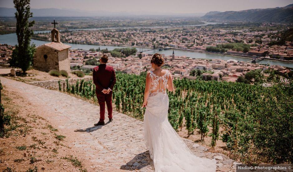 Le mariage de Jordan et Rachel à Bourg-lès-Valence, Drôme