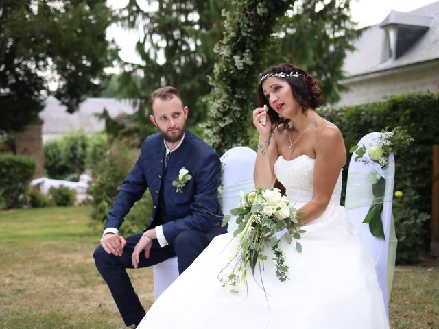 Le mariage de alban et virginie à Naours, Somme 44