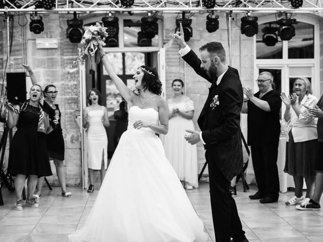 Le mariage de alban et virginie à Naours, Somme 75