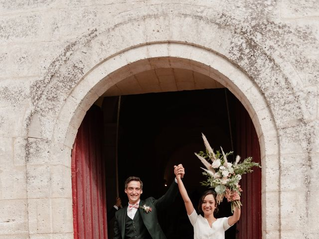 Le mariage de Maxence et Adeline à Ribérac, Dordogne 17