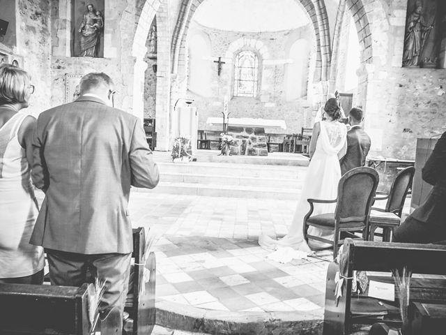 Le mariage de Julien et Jessica à Coulaines, Sarthe 17