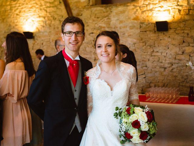 Le mariage de François et Manon à Marcilly-d'Azergues, Rhône 42