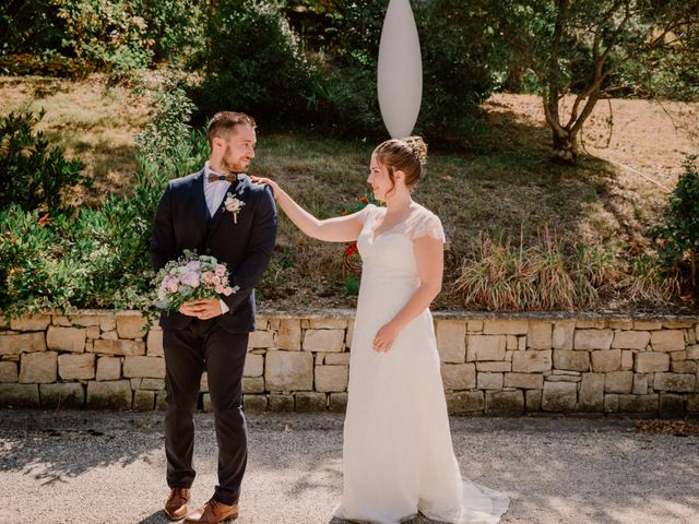 Le mariage de Felicien et Helene à Saint-Privat, Ardèche 13