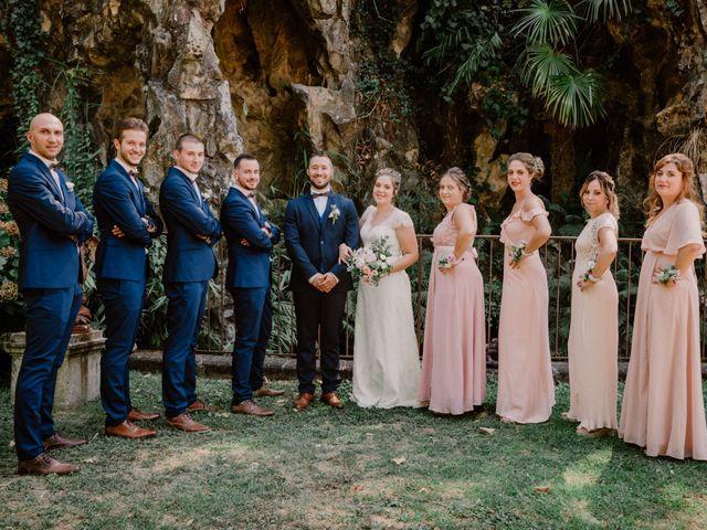 Le mariage de Felicien et Helene à Saint-Privat, Ardèche 1