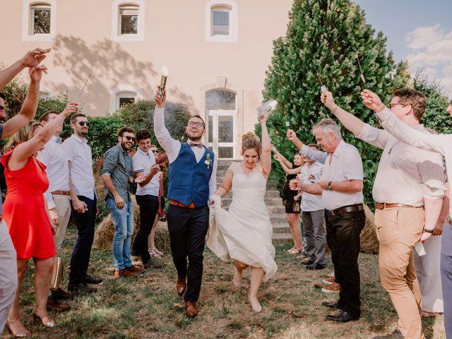 Le mariage de Felicien et Helene à Saint-Privat, Ardèche 27