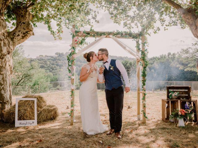 Le mariage de Felicien et Helene à Saint-Privat, Ardèche 28