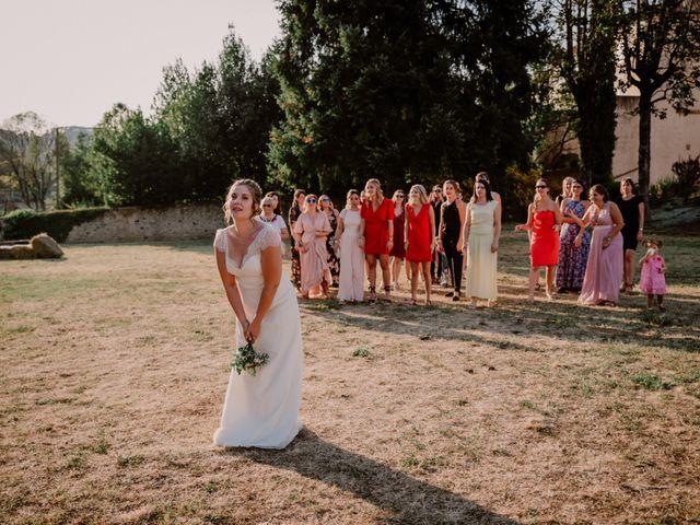Le mariage de Felicien et Helene à Saint-Privat, Ardèche 34