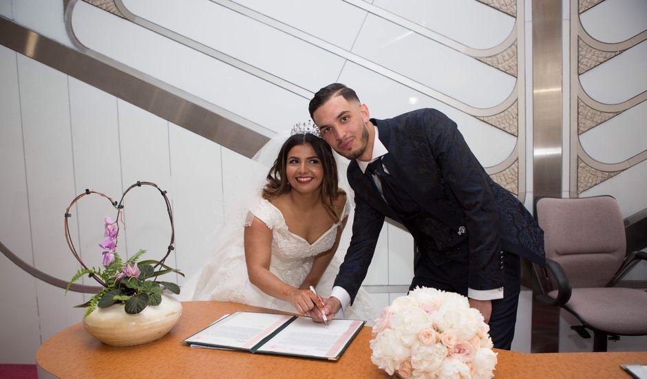 Le mariage de Nathan et Souhaila à Gennevilliers, Hauts-de-Seine